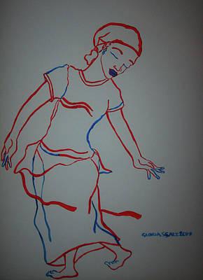 Mali Traditional Dance Poster