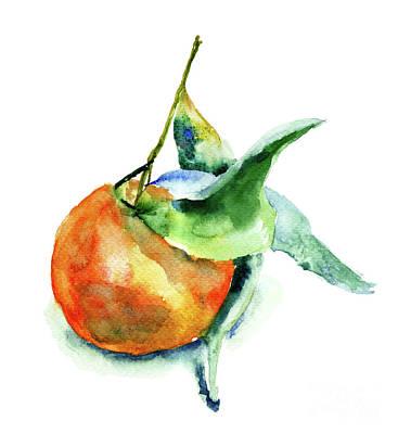 Mandarin Fruits Poster