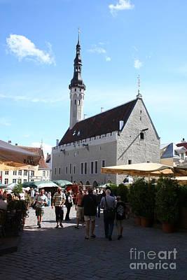 Market Place - Tallinn Poster