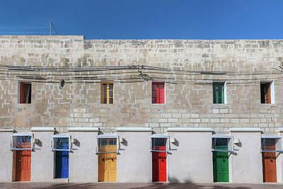Marsaxlokk - Malta Poster by Joana Kruse