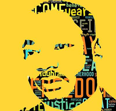 Martin Luther King Jr I Have A Dream Poster