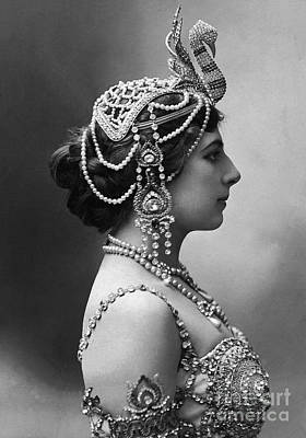 Poster featuring the photograph Mata Hari by Granger
