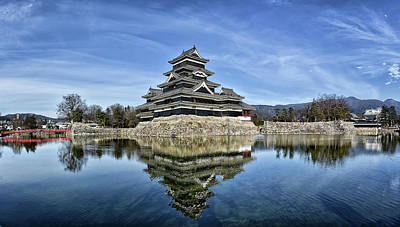 Matsumoto Castle Panorama Poster