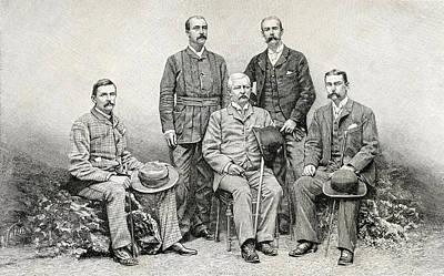 Members Of Sir Henry Morton Stanley S Poster