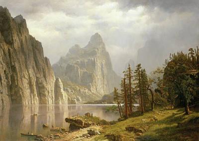 Merced River, Yosemite Valley Poster