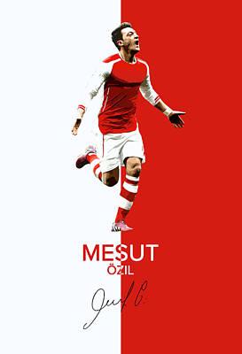 Mesut Ozil Poster by Semih Yurdabak