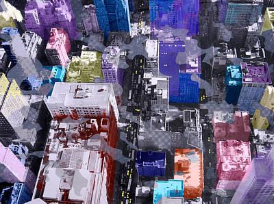 Metropolis  Poster by David Studwell