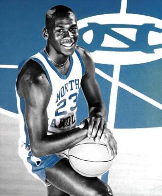 Michael Jordan In The Beginning Poster