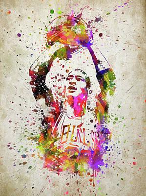 Michael Jordan In Color Poster