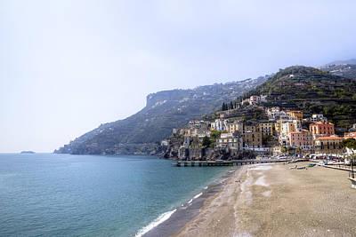 Minori - Amalfi Coast Poster by Joana Kruse