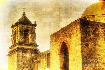 Mission San Jose San Antonio, Texas Poster