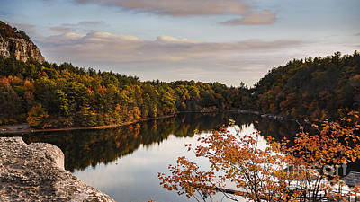 Mohonk Mountain House Lake Poster