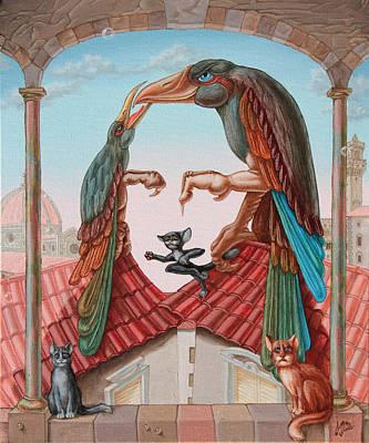Mona Lisa. Air Poster