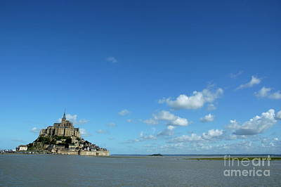Mont Saint-michel In France Poster by Sami Sarkis