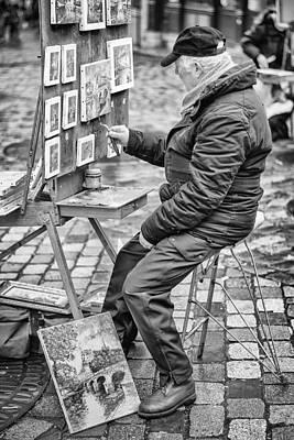Montmartre. Poster by Pablo Lopez