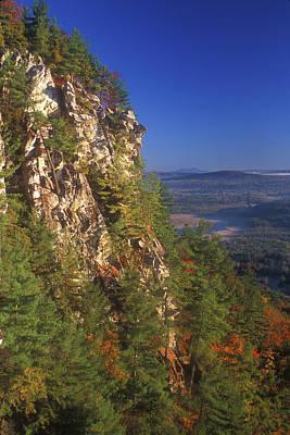 Monument Mountain Cliffs Poster