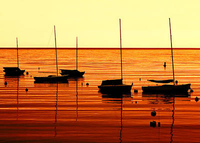 Morning Over Rockport Poster by Todd Klassy