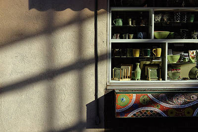 Poster featuring the photograph Morning Shadows by Monte Stevens