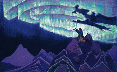 Moses The Leader Poster by Nicholas Roerich