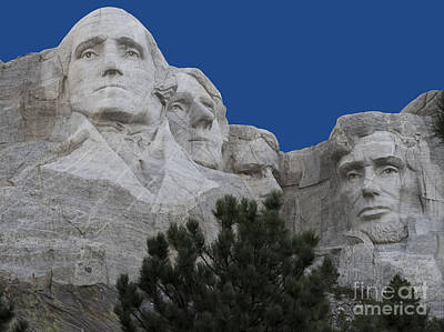 Mount Rushmore Poster by Juli Scalzi
