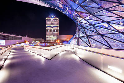 Munich - Bmw Modern And Futuristic Poster