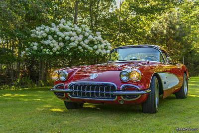 My 1960 Corvette Poster by Ken Morris