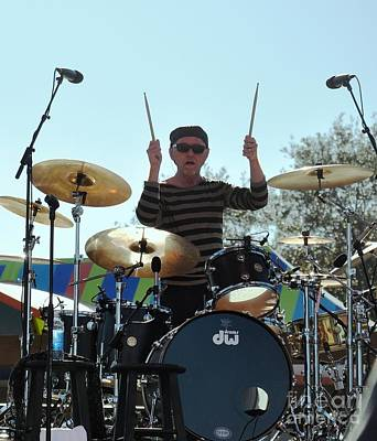 Myron Grombacher - Pat Benater Band Poster by John Black