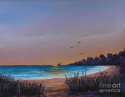 Myrtle Beach Sunset Poster