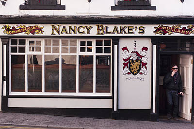 Nancy Blake's Irish Pub Poster