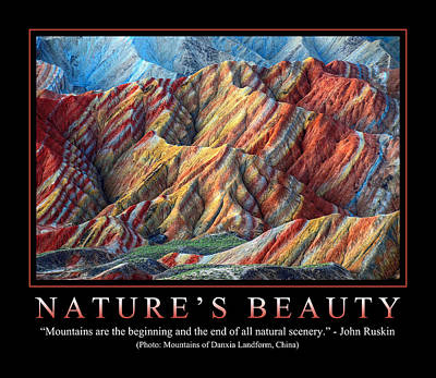 Nature's Beauty 1 Poster