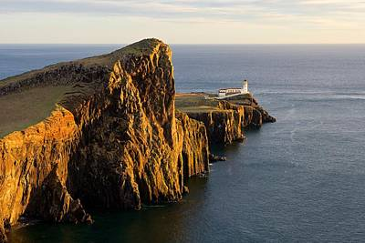 Neist Point Lighthouse Poster by Stephen Taylor