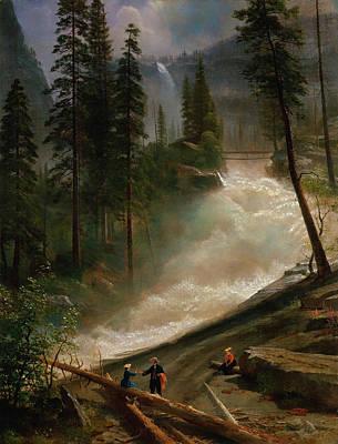 Nevada Falls, Yosemite Poster