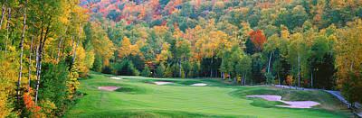 New England Golf Course New England Usa Poster