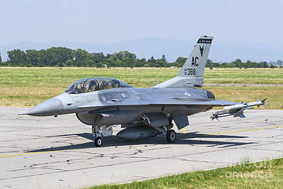 New Jersey Air National Guard F-16c Poster