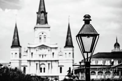 New Orleans Landmark Poster by Scott Pellegrin