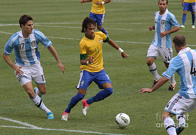 Neymar Doing His Thing II Poster