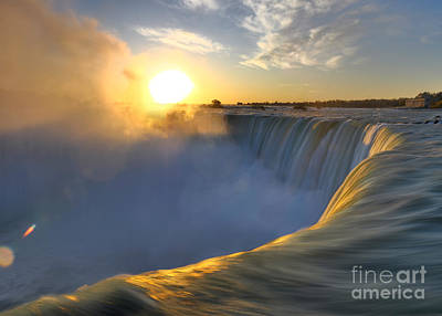 Niagara Falls Poster by Oleksiy Maksymenko