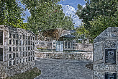 Nimitz Prop Fountain Poster