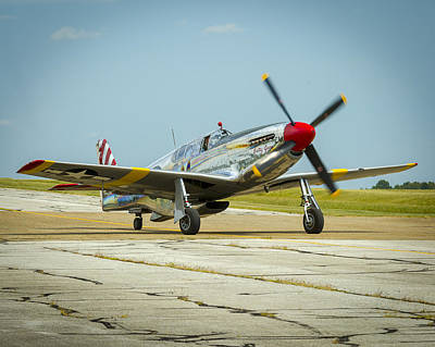 North American Tp-51c Mustang Poster