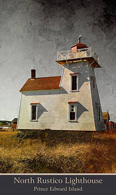North Rustico Lighthouse Poster