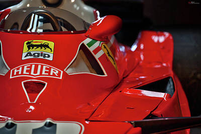 Poster featuring the photograph Number 11 By Niki Lauda #print by ItzKirb Photography