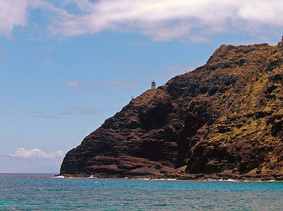 Poster featuring the photograph Oahu - Cliffs Of Hope by Anthony Baatz