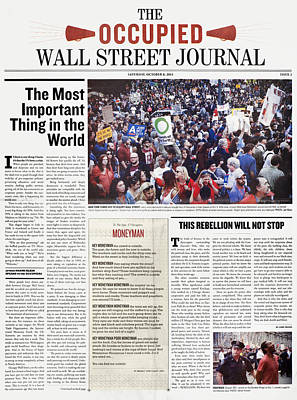 Occupy Wall Street, 2011 Poster by Granger