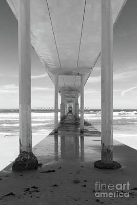 Poster featuring the photograph Ocean Beach Pier by Ana V Ramirez