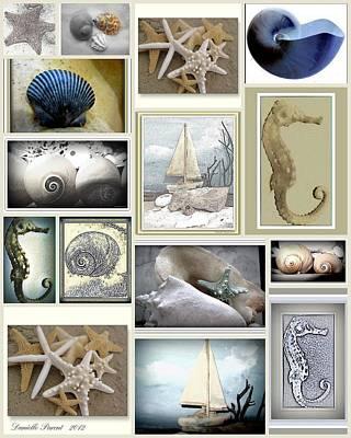 Ocean Wisper Poster by Danielle  Parent
