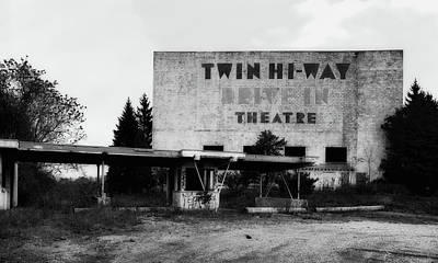 Old Drive In Theatre Poster