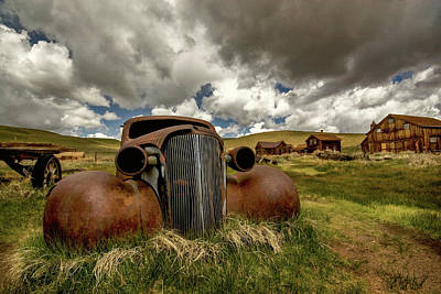 Old Jalopy Bodie State Park Poster