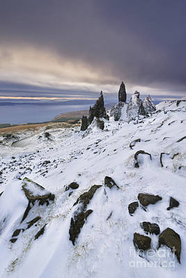 Old Man Of Storr Poster by Rod McLean