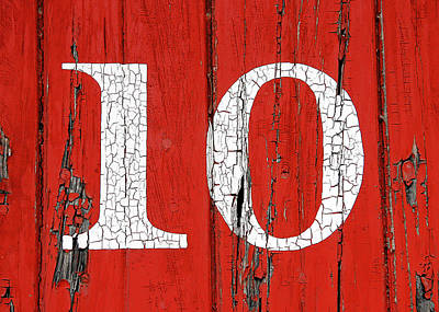 Old No. 10 Poster