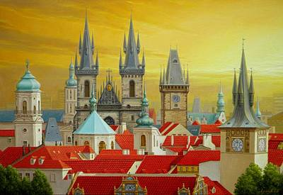 Old Prague Poster